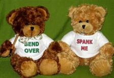 Mr Bend Over & Miss Spank Me ~ Bears only  $23.99