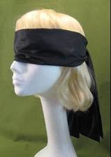 "Blindfold Black Extra Long 58"" Only  $6.95"