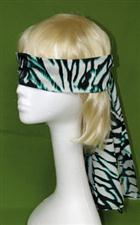 Blindfold Black, Green & White Extra Long; Really Nice  $6.99