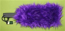 FURRY - Purple Long Hair  - Paddle Sleeve - Sensual Warm-Up & Cool-Down $12.99