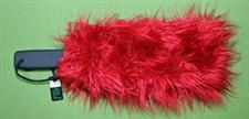 FURRY - Bright Red Paddle Sleeve - Sensual Warm-Up & Cool-Down $12.99