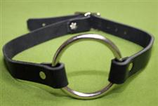 Leather O-Ring Collar - $14.99  - A great everyday collar