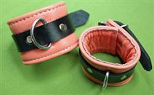 Leather Wrist Cuffs - 8 1/2&#34; x 2 1/2&#34; Great Spanking Cuffs $24.99