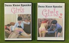 Dana Kane Two DVD Set ~ GIRLS & GIRLS-2  ~ Over Two Hours and only $47.99
