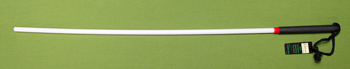 "White Delrin Cane MASTER'S CHOICE SR  30""  $16.99"