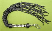 Barb Wire Style Leather FLOGGER - 32&#34;  Very Stingy and only $39.99