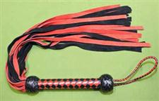 "Red & Black FLOGGER - 30""    24 Falls  -  Sensual  WOW $34.99"