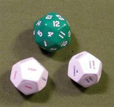 "DISCIPLINE DICE / Green ""WOW""  $16.99"