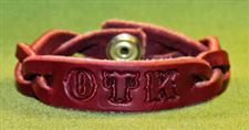 "OTK Leather Bracelet  -  8 1/2+"" x  3/4""  - $7.99"