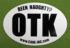 OTK Bumper Sticker  -  Been Naughty?      only $2.99
