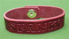 "Spanko Leather Bracelet  -  8 1/2+"" x  3/4""  - $7.99"