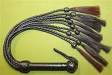 "Horse Hair Flogger - Nine Tail - 32+""  Very Erotic and only $47.99"