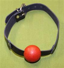 "RED BALL GAG  - 1 3/4"" Rubber Ball  ~  $12.95  WOW"