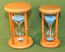 Hourglass TWO Piece Set  - 5 & 15 Minute Sand Timer   $45.95