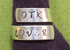 OTK LOVER  Wrap Ring  - Great Conversation Starter  -  Only $14.99