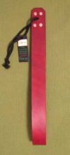 "OTK Leather Looped Strap in Burgandy 1 1/4"" x 12""   - $14.99"