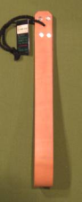"OTK Leather Looped Strap in Russet  1 1/4"" x 12""  - $13.99"
