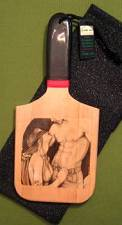 """DISOBEY"" - Patty's Paddle with Case  $26.99"