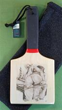 """NO PLEASE"" - Patty's Paddle with Case  $26.99"