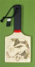 """SANTA SPANKS"" - Patty's Paddle with Case  $26.99"