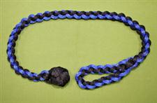 Monkey Fist Sliding Rope Waist Cuff - Black & Blue   $27.99  on SALE $25.99