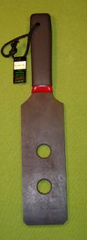 "Gator Skin Rubber Paddle with Holes  - 3"" x 15""   $17.99"