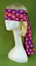Purple and Pink Extra Long Blindfold   $6.99