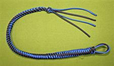 SPANKING WHIP -  WOW 24&#34; Long  -  Blue & Black  ~  Only  $39.99