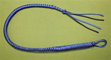 SPANKING WHIP -  WOW 31&#34; Long  -  Blue & Black  ~  Only  $44.99