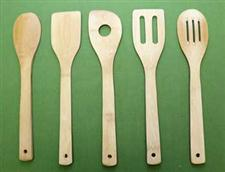 Spanking Spoon Set - Bamboo - 5 Pieces  WOW   $17.99