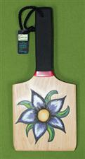 "Hand Painted OTK Paddle by MISSY -  5 1/2"" x 12"" x 1/2""    $24.99"