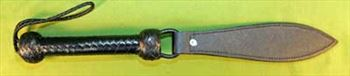 """CAPTAIN'S TERROR - Leather Swinging Strap  18"""" Long & 2"""" Wide - WOW $24.99"""