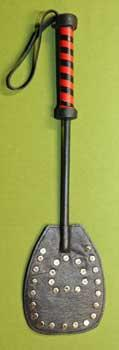 """Leather Fly Swatter Paddle 15"""" Long and 3 1/2"""" Wide   WOW $24.99"""