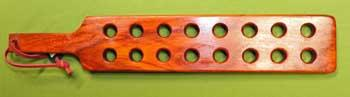 "MAGNUM EXTREME PADDLE - Padauk with 16 holes 24"" x 4"" x 7/8""  $44.99"