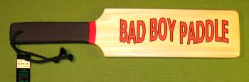 """BAD BOY"" ~ 3 1/2"" x 16"" x 1/2""  $20.99"
