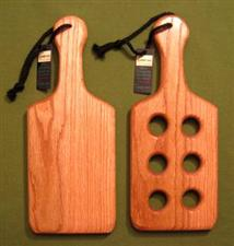 "Spyder's Paddles - Two OAK Paddles 4 3/4""  x 12"" x 3/4""   $29.95"