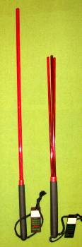 RED LIGHTENING - OTK 2 piece set - RED Acrylic  $32.99