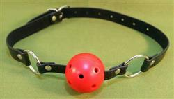 Red Breathable Ball Gag - A Great Gag only  $13.99  WOW