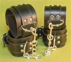 Double Buckle Ankle & Wrist Cuffs -  A Great Affordable Cuff Set at $39.99