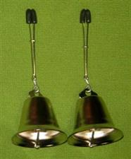 Tweezer Clamps with Bells  set of two   - Very Erotic   $17.95