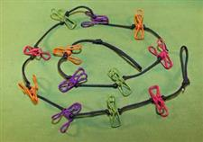 Zipper Line or Zip Line with 12 Clips, A HUGE OUCH   $12.99
