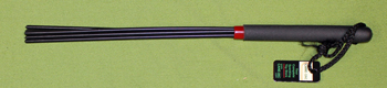 """Black Delrin Cane OTK - 5 strand  16""""    $16.99"""