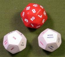 "DISCIPLINE DICE / Red  ""WOW""  $17.99"