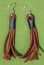 Flogger Earrings - Brown $8.99 on sale only $7.99