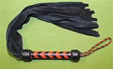 "Black & Red Handle 36 Fall FLOGGER - 27+""   WOW $37.99  A Great Flogger"