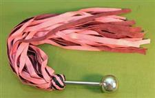 "Pink Metal Handle 36 Fall FLOGGER - 24"" - Erotic - $34.99"