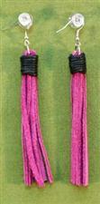 Flogger Earrings - Pink $11.99
