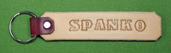 "Key Chain  -   ""SPANKO""      Only $4.99"
