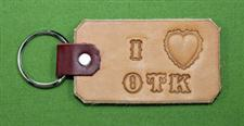 "Key Chain  -   ""I LOVE OTK""      Only $4.99"