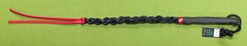 "Braided Leather SWHIP  15"" (22"" with falls)  Very Stingy  $14.99"